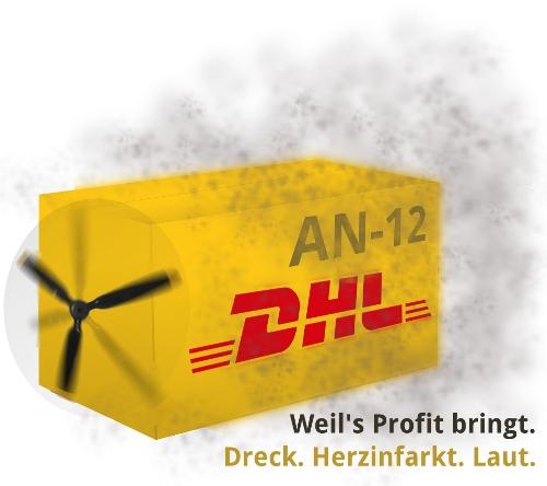 Alte, gefährliche Kisten bei DHL