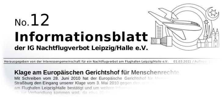 Nachtflugverbot Leipzig